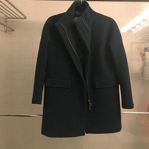 J. Crew Jackets & Coats - J. Crew Stadium Cloth Cocoon Coat, 2P, Deep Green