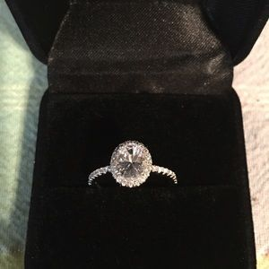 Jewelry - Real 925 silver engagement promise ring