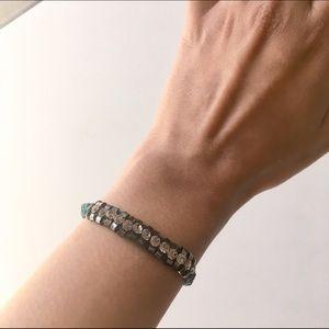 Anthropologie Teal Bracelet