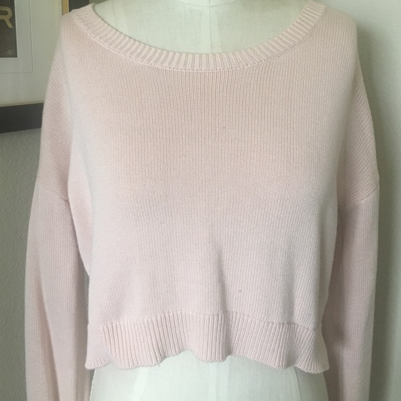 Forever 21 - Light pink cropped sweater from Inspo's closet on ...