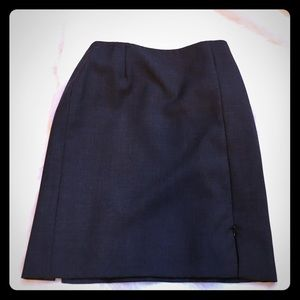 Armani Collezioni Dark Gray Pencil Skirt
