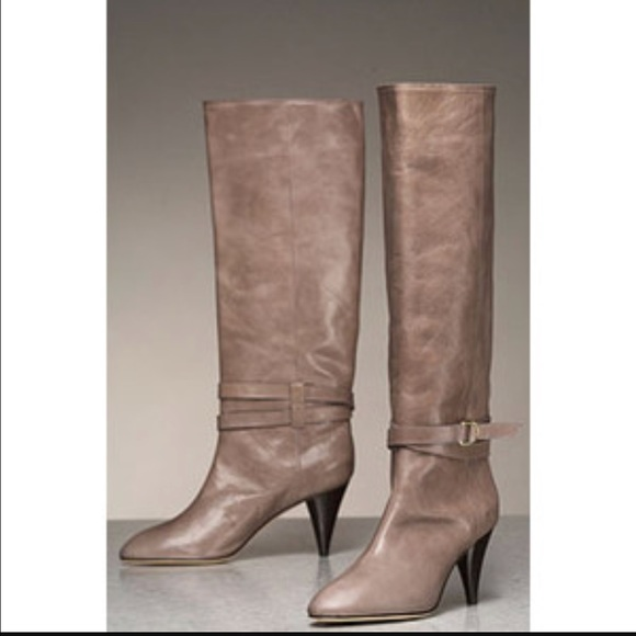 Loeffler Randall Shoes - Loeffler Randall Emmy Belted Knee High Boots,Taupe