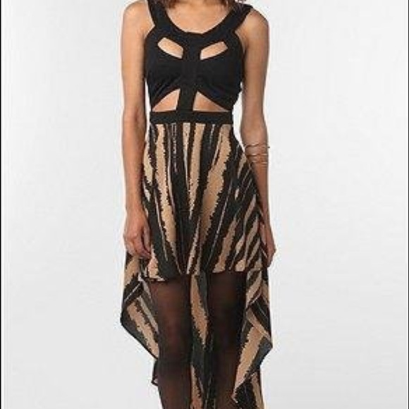 8f86765da1 High low cut out dress from Urban Outfitters. M 587a92a9eaf0302e8f04e500
