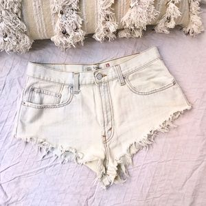 Levi's Pants - LEVI'S 👖 Bleached Cutoff Denim Shorts