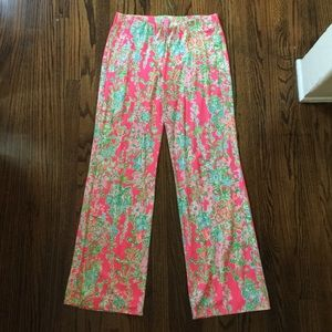 Size M Lilly Pulitzer Floral Georgia May Pant