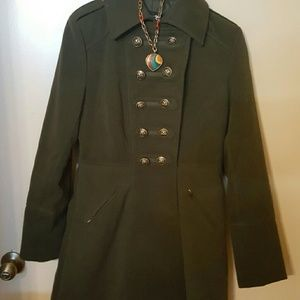 Jackets & Blazers - Beautiful olive green  coat  from  Forever 21 NWOT