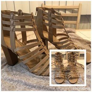 Charlotte Russe block heels NWOT
