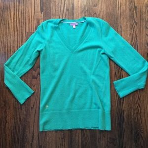 Green Cashmere Lilly Pulitzer Sweater Large