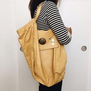 Gustto Handbags - Gustto creamy yellow handbag