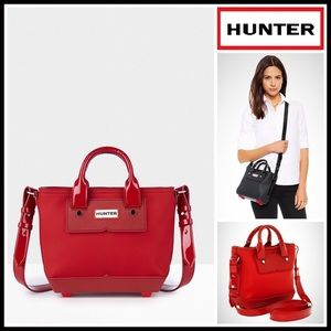 Hunter Handbags - HUNTER ORIGINAL MINI TOTE RUBBER CROSSBODY