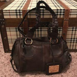 Missoni Handbags - MISSONI brown leather shoulder bag