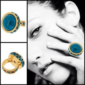 House of Harlow 1960 Jewelry - House Of Harlow 1960 Dome Ring