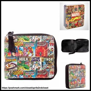 Marvel Other - ❗1-HOUR SALE❗AVENGERS LEATHER WALLET