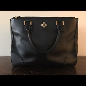Tory Burch Robinson Double Zip Tote (large)