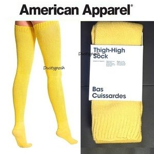 American Apparel Accessories - American Apparel Thigh High Socks Over The Knee