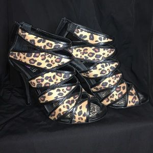 Mix No6 cheetah sandal bootie SALE!
