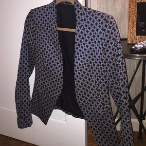 Theory Jackets & Blazers - Theory blazer black and blue