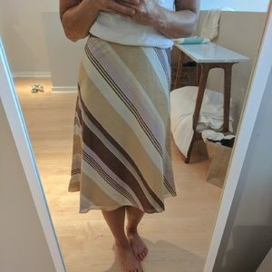 J. Crew Dresses & Skirts - Jcrew striped skirt