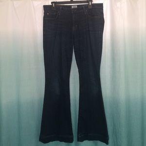 Hudson-size 31, dark wash jeans