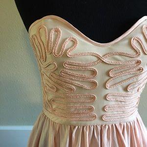 Millau Dresses & Skirts - 💝Millau Pink Strapless Dress