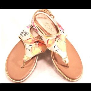 "Naturalizer Shoes - NATURALIZER ""Harsta"" Fabric Thong Sandals"