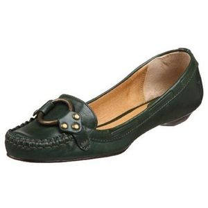 Frye Shoes - Frye Black Ruby Ring Moccasins
