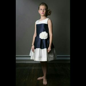 Zoe Ltd Other - Zoe Ltd Navy Blue & Ivory Party Dress NWT