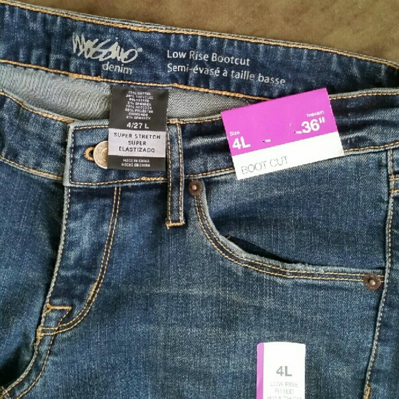 Mosimo: Low Rise, Boot Cut Mossimo Jeans With