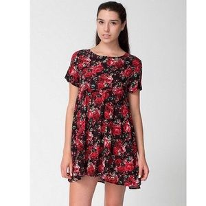 American Apparel Rayon Babydoll Dress
