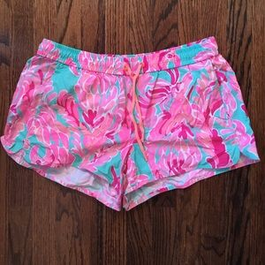 Lilly Pulitzer Luxletic Shorts Medium