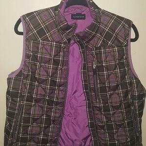 Lands' End Jackets & Blazers - Lands End Puffer Vest