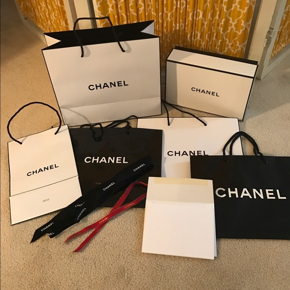 5ea2b8f9f6c9 CHANEL Other | Gift Bag And Box Lot | Poshmark