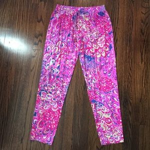 Lilly Pulitzer Lilly's Lagoon Pants Medium