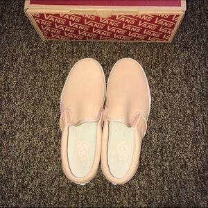 dc84a3393f Vans Shoes - VANS VEG TAN LEATHER SLIP ON 7M 8.5W