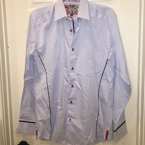 7 Downie St men's button up shirt SALE