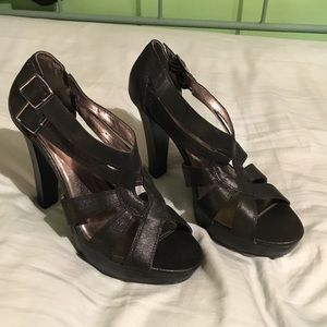 Candies size 10 black heels