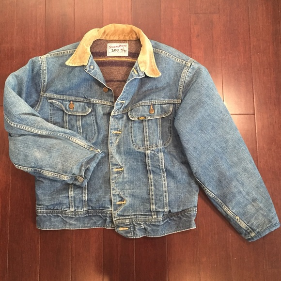 6b814367f1b Lee Jackets   Blazers - Lee Storm Rider modified wool lined Jean jacket
