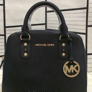 Michael Kors Handbags - Michael Kors Saffiano leather small satchel