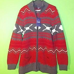 Chaps Sweaters - NWT Chaps Ralph Lauren Women's Large Zip Sweater