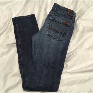 7 for all Mankind size 26 Roxanne jeans