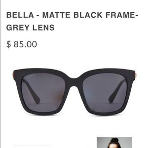 Accessories - Gently used DIFF BELLA BLACK SOLD OUT GLASSES.