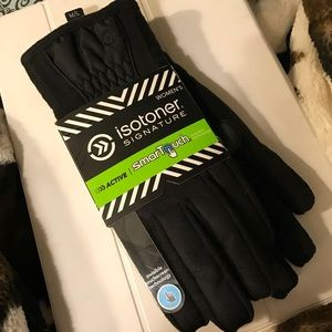 Isotoner Accessories - Isotoner Signature Gloves with Smart Touch