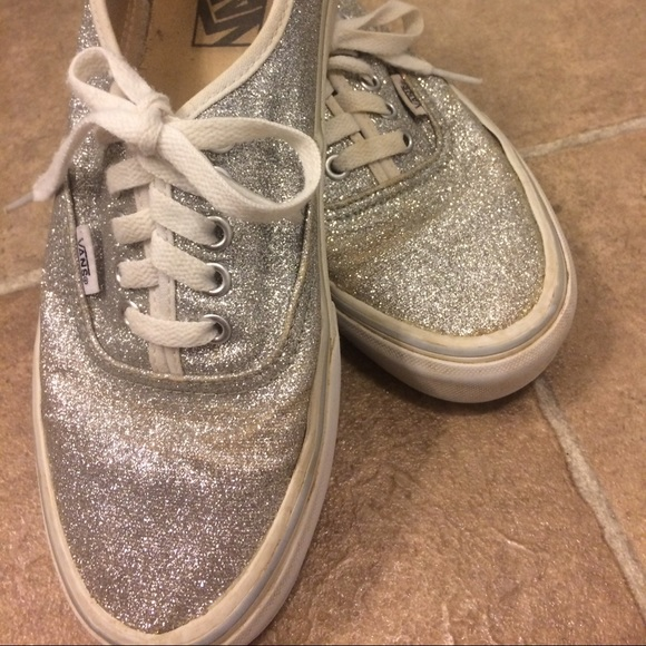 Vans Shoes - Size US 7 1 2 glittery d45daefa5d
