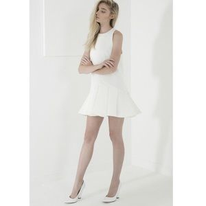 cameo Dresses & Skirts - Cameo 'why ask' Dropped Waist White Dress