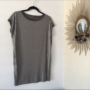 Vince Sequins Tunic