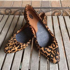 Dr Scholls Really Leopard Flats