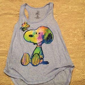 Peanuts Tops - 😎 Snoopy tank top