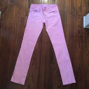 Lilly Pulitzer pink lilac jeans size 6