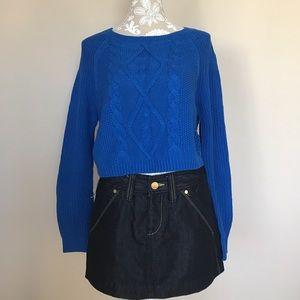Express Sweaters - Express short sweater