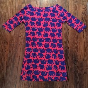 Lilly Pulitzer elephant print dress size small